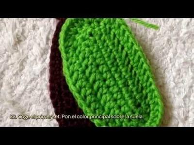 Haz unas Sandalias para Bebé de Punto - Hazlo tu Mismo Manualidades - Guidecentral