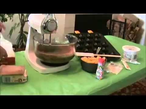 MANUALIDADES - Como Hacer Cake Pops - Parte 1