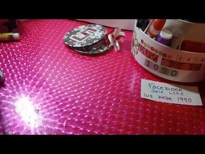 MANUALIDADES CON CD DE DESHECHO   CREAR MANUALIDADES FACILES