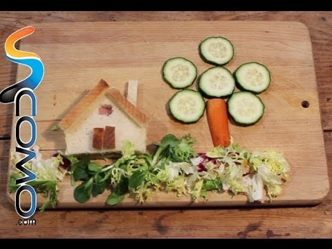 Manualidades con comida