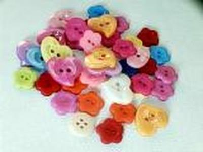 Manualidades cuadro de  botones