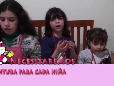 Manualidades para niños - Personalizando una camiseta muy especial - Laia Land (capítulo 6)