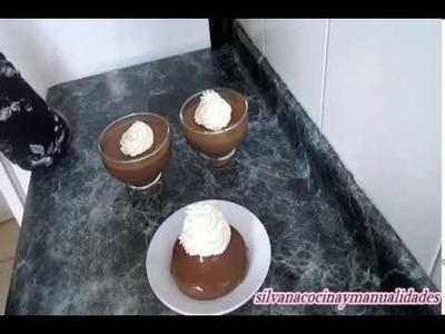 Receta: Panna Cotta De Chocolate Casera - Silvana Cocina Y Manualidades