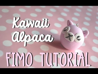 TUTORIAL ALPACA Polymer Clay | Chubby Animals #1
