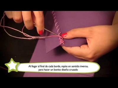 Cómo hacer una cartera : Manualidades para niños en goma Eva