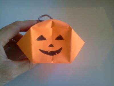Halloween crafts. Pumpkin 3D - Calabaza 3D, Manualidades Dia de los muertos, Todos los santos