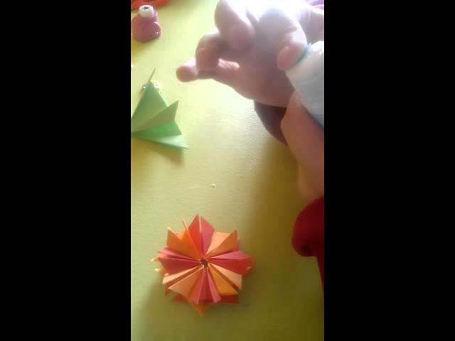 Manualidades Como hacer un marcapaginas d flor