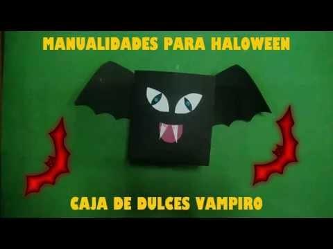 Manualidades para Halloween, Halloween Niños, Vampiro o Murcielago
