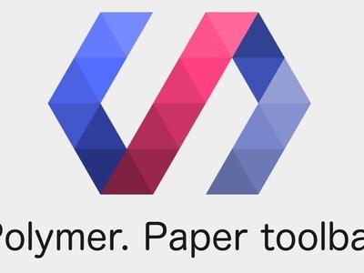 Polymer. Tutorial 3. Paper Toolbar