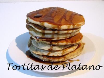 Receta: Tortitas Americanas De Platano Deliciosas! - Silvana Cocina Y Manualidades