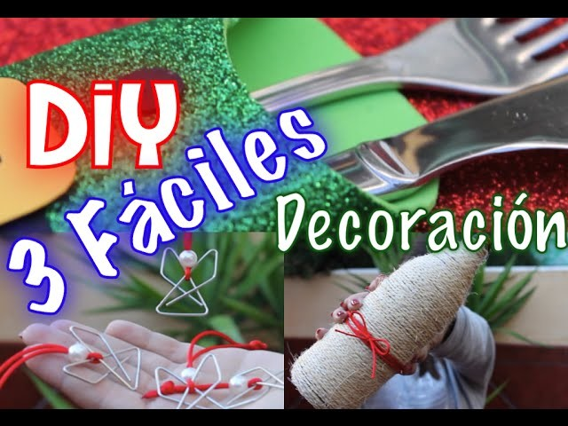 DIY Christmas - Manualidades Navidad | Lydiamarin1