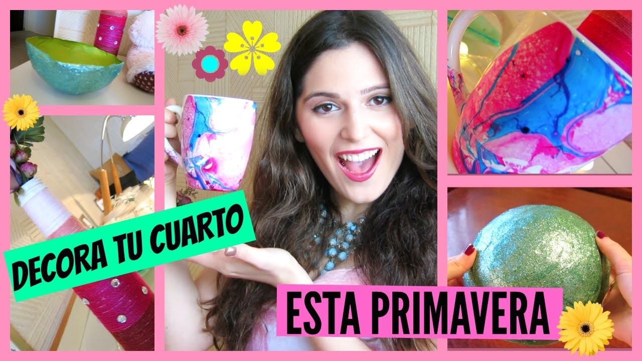 DIY: Decora Tu Cuarto Esta PRIMAVERA ♡ Fácil Y Rápido! (Argentina) | STEPHT