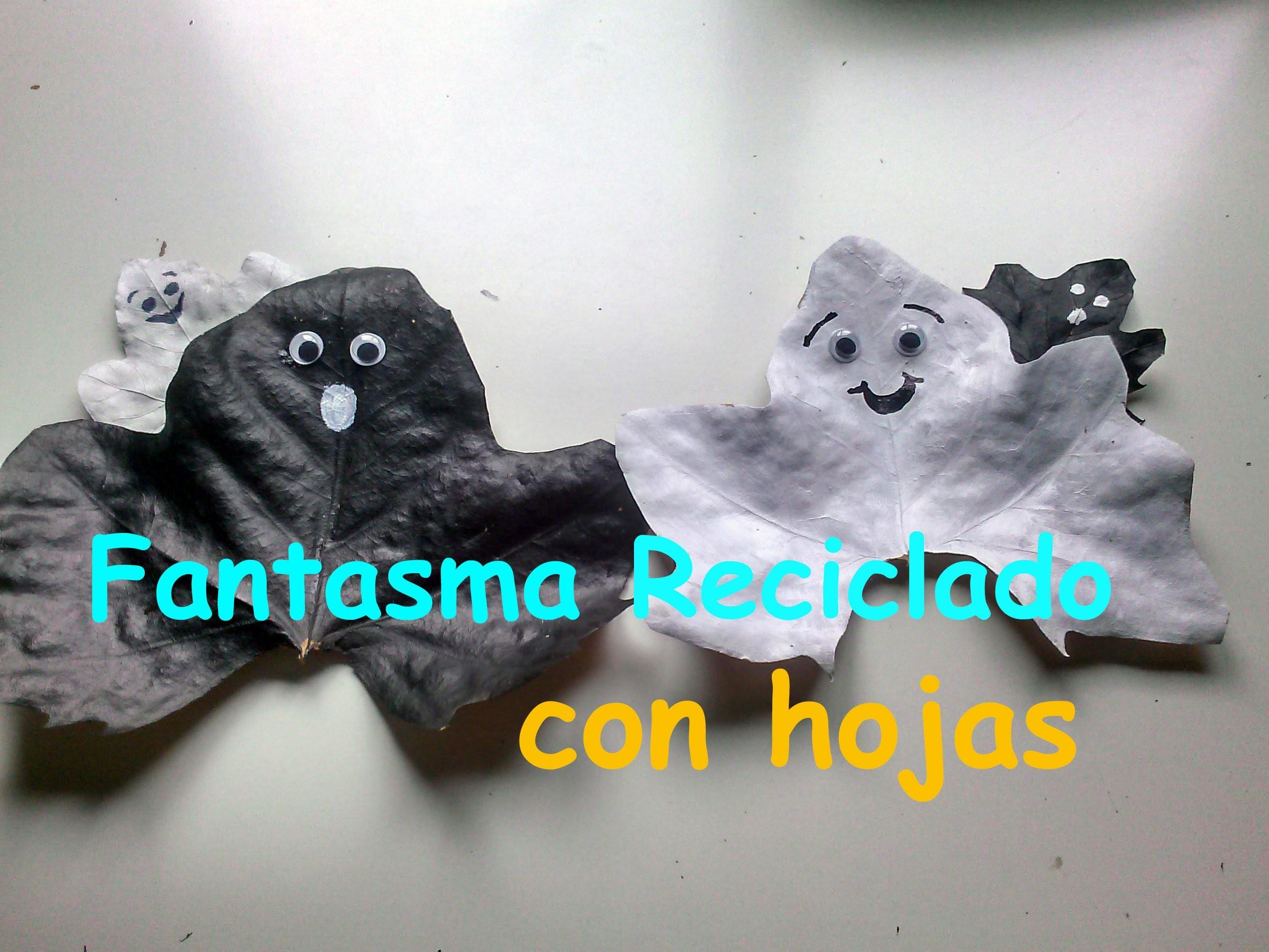Fantasmas reciclados || Manualidades Halloween