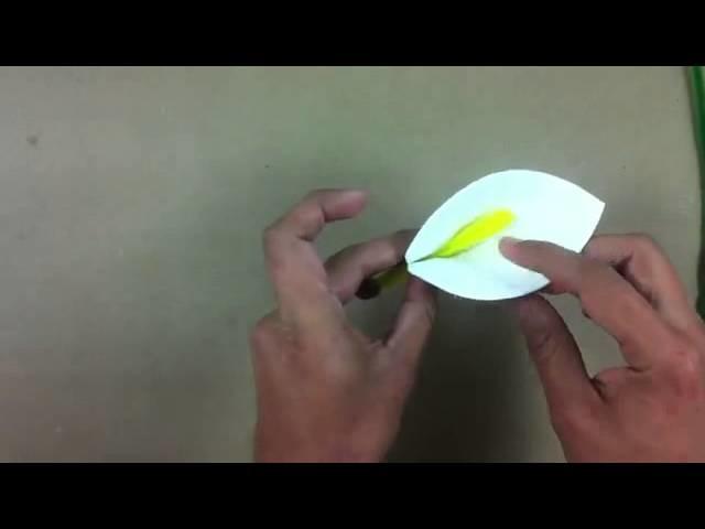 Hacer flor de foami - Manualidades en casa