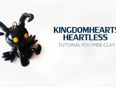 Kingdom Hearts Heartless Polymer Clay Tutorial. Sincorazón Kingdom Hearts de Arcilla Polimérica