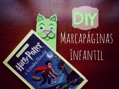 Manualidades Infantiles: Marcapáginas DIY