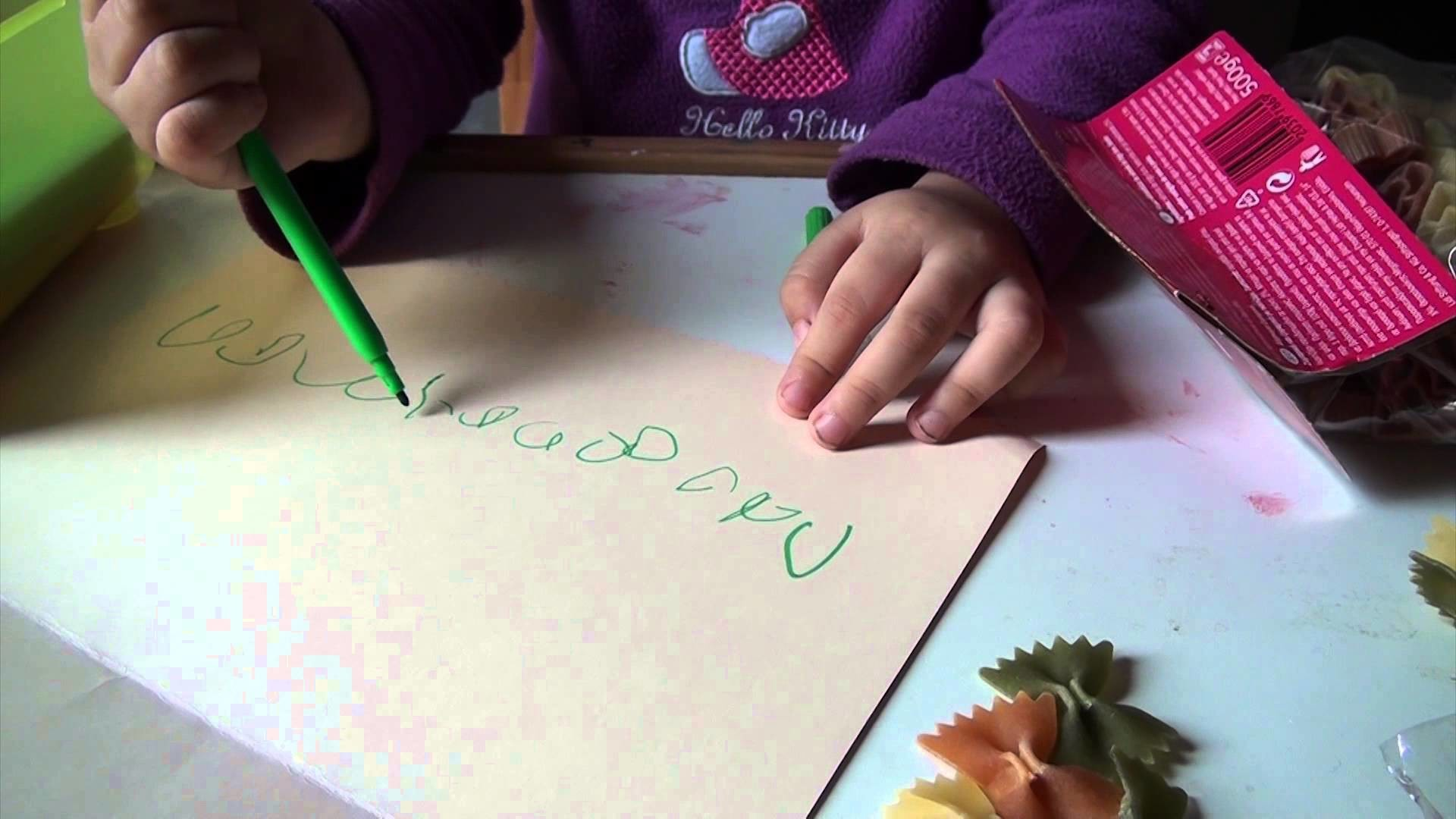 Manualidades para niños - Tarjetas de regalo con pasta - LaiaLand (capítulo 5)