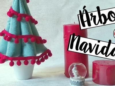 Tutorial árbol de Navidad. Christmas DIY