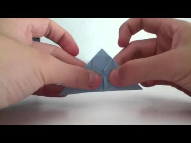 Tutorial de origami: cómo hacer un conejo de papel - Manualidades con papel: como hacer un conejo