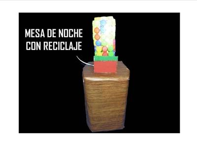 MANUALIDADES. Como hacer un mueble con botellas recicladas. RECICLAJE