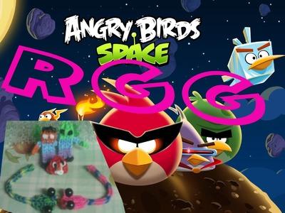 COMO HACER UN angry birds CON GOMILLAS(Rainbow Loom)AORA SI
