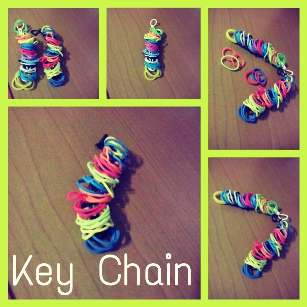 Como hacer un llavero con Rainbow Loom♥