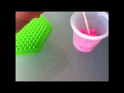 """Cubo de """"perler beads"""""""