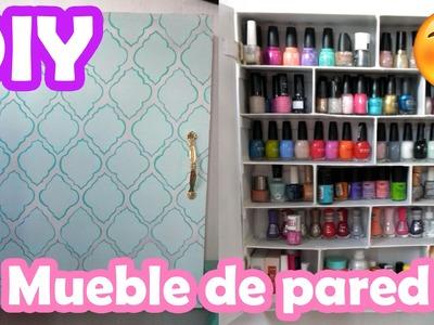 DIY ♥ Mueble de pared ♥