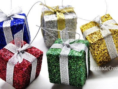 DIY : Regalitos DIY para decorar el árbol de Navidad *Reciclaje*