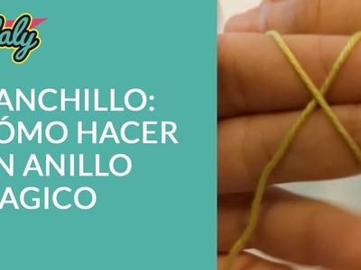 Ganchillo: Cómo hacer un anillo mágico