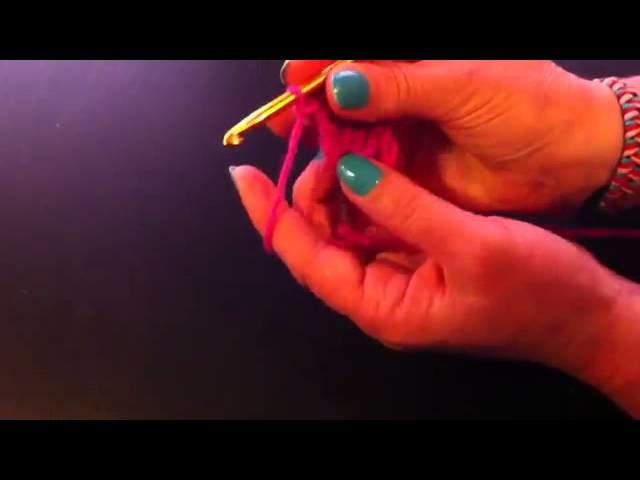 Ganchillo: Cómo hacer un corazón - hacer un corazón con ganchillo