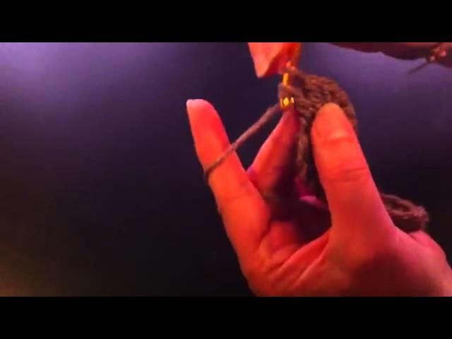 Ganchillo: Cómo hacer un óvalo - hacer un óvalo con ganchillo