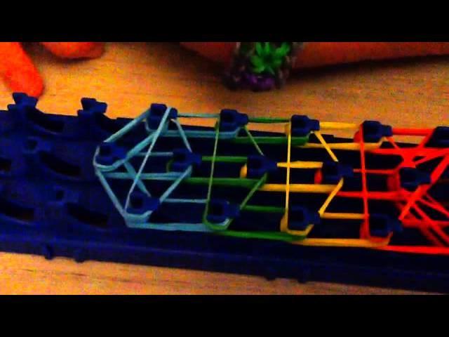 Rainbow loom: HELADO !!! Tutorial en español!!