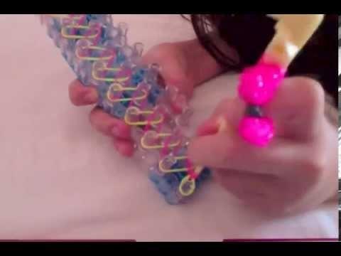 Rainbow Loom: pulsera de principiante