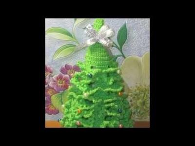 Arbol navidad tejido crochet