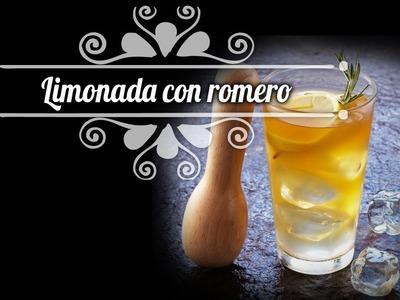 Chef Oropeza Receta:Limonada con Romero-Lemonade with Romero Recipe