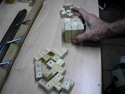 Cómo hacer un Puzzle tipo Dado, en  madera.