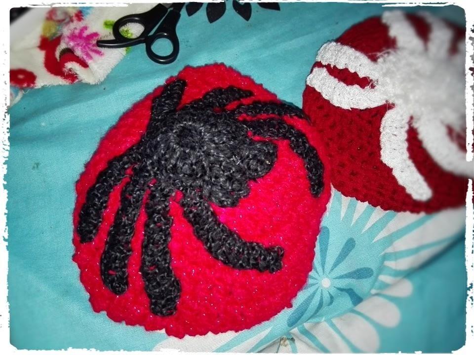 Gorro araña tejido crochet p( 2) todas las tallas