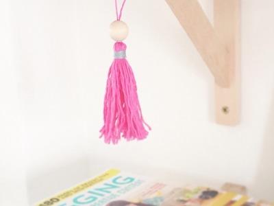 Haz una Bonita Borla Decorativa - Hazlo tu Mismo Manualidades - Guidecentral