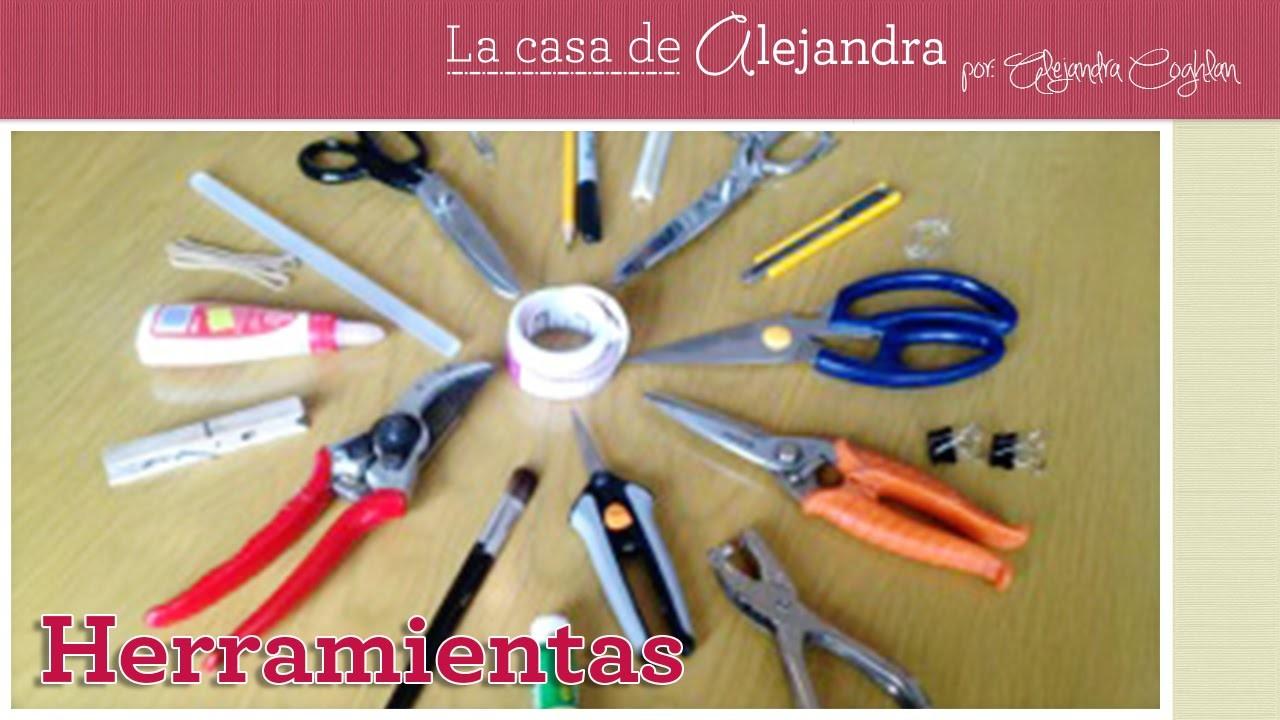 Lo que necesitas para hacer manualidades - DIY Alejandra Coghlan