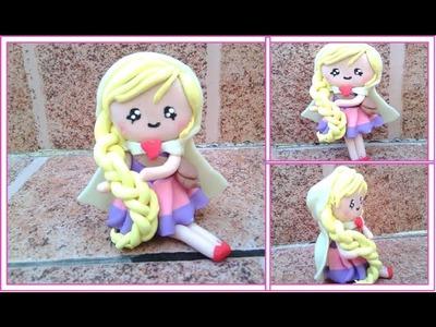 Muñeca cute. Arcilla polomerica. Cute Doll.Polymer Clay