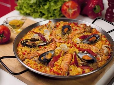 Paella de Marisco - Receta Arroz Brillante