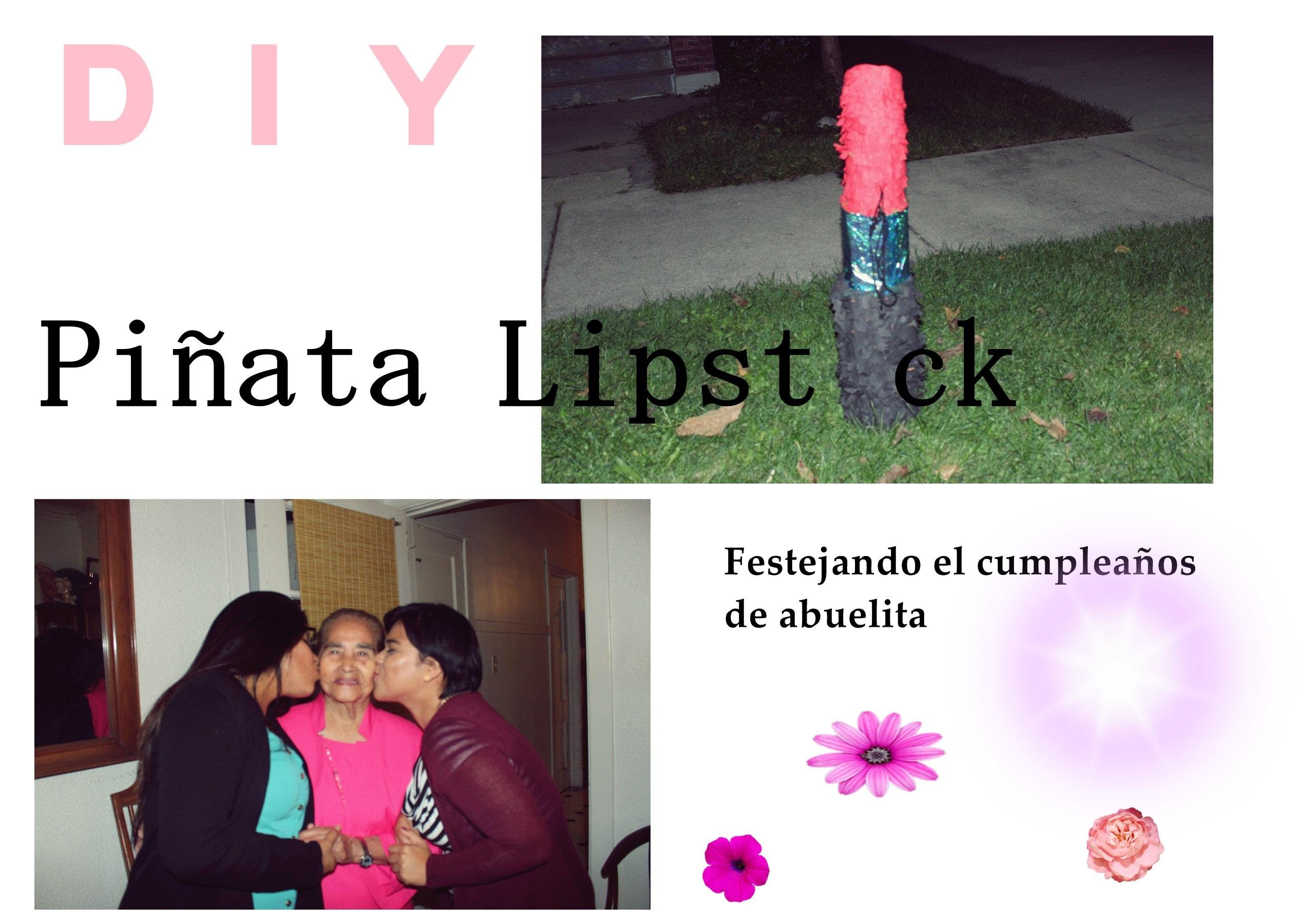 Piñata lipstick  | diy | tumblr