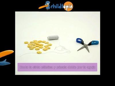 Pulsera. Manualidades infantiles, manualidades con material reciclado