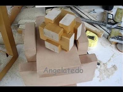 Puzzle de madera, Cómo se hace con el C.I.C.m.