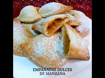 RECETA: EMPANADAS DULCES DE MANZANA - Silvana Cocina y Manualidades