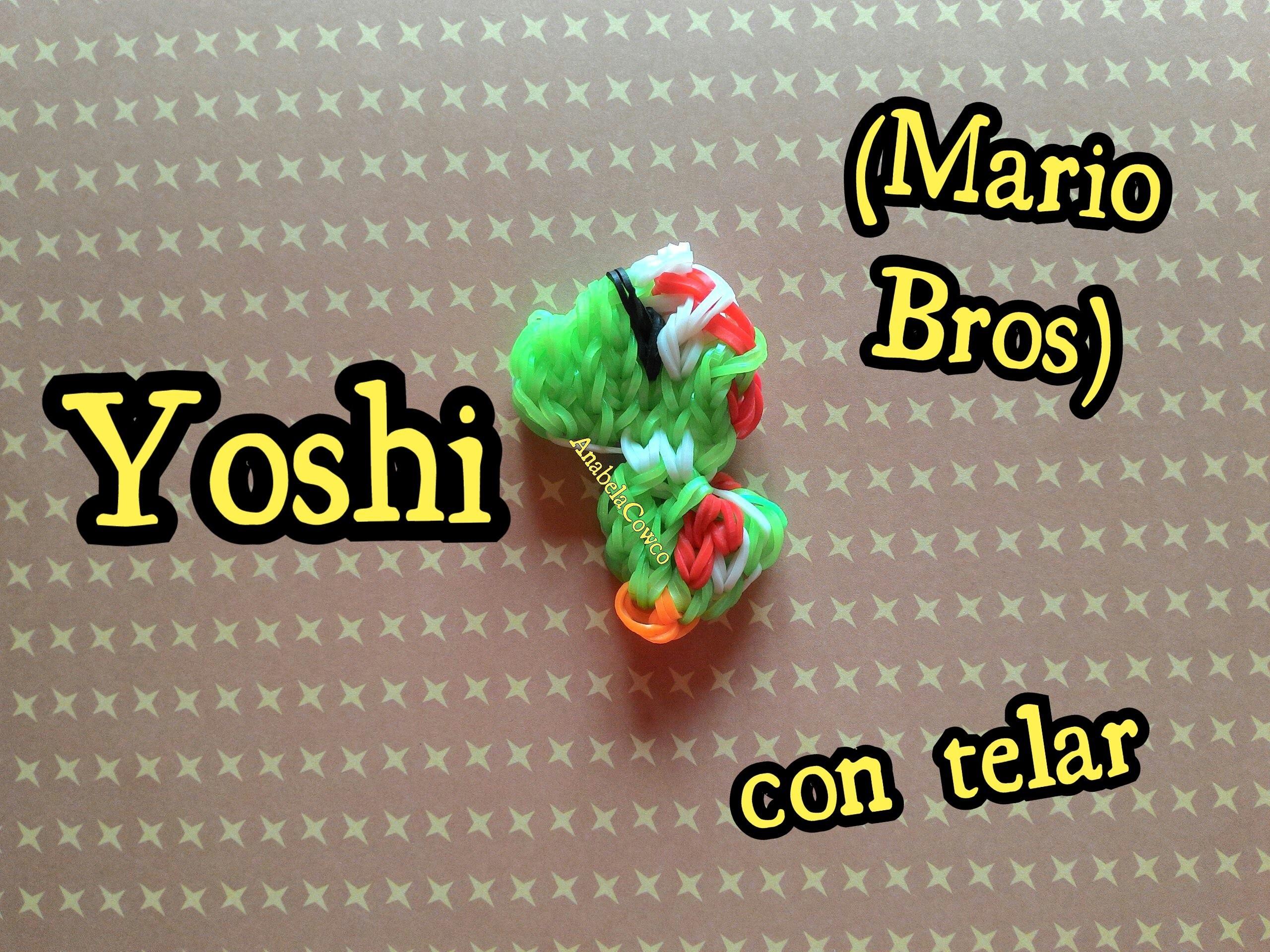 YOSHI  de gomitas con telar RAINBOW LOOM