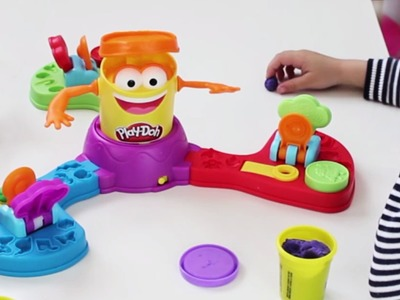 Zampabolas de Play-Doh.Juguete