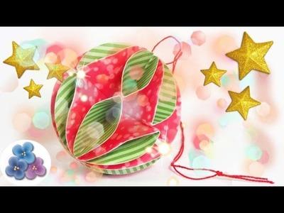 Adornos Navideños: Esferas de Papel - Manualidades de Navidad 2015 Pintura Facil