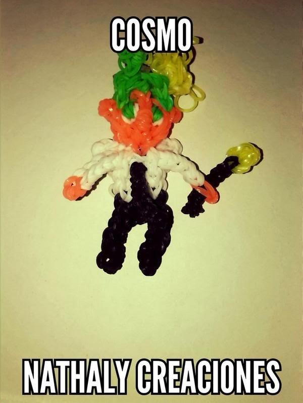 COSMO (Fairly Odd Parents) Rainbow Loom